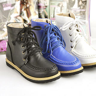 Picture of KAWO Lace-Up Ankle Boots 1023013208 (Boots, KAWO Shoes, China Shoes, Womens Shoes, Womens Boots)