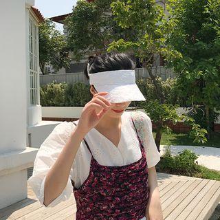 White | Size | Sun | Hat | One