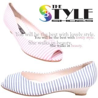 Buy Woorisin Peep Toe Pumps 1022936386