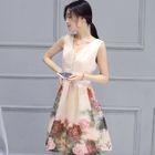 Floral A-Line Dress от YesStyle.com INT