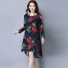 Long-Sleeve Floral Tunic 1596