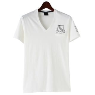 Picture of TOKIO Embroidered V-Neck Short-Sleeve T-Shirt 1022735987 (TOKIO, Mens Tees, South Korea)