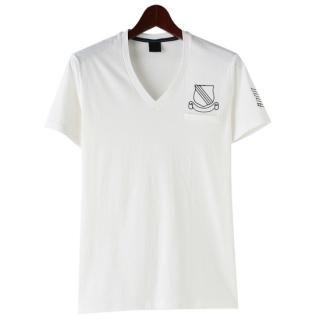 Buy TOKIO Embroidered V-Neck Short-Sleeve T-Shirt 1022735987
