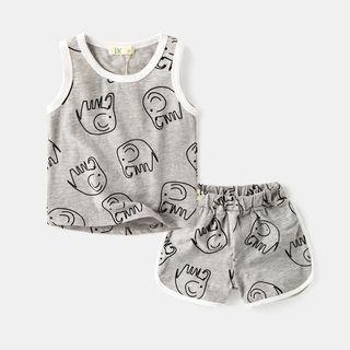 Kids Set: Tank Top + Shorts 1061003984