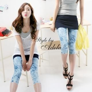 Picture of Adela Shop Cropped Jeans 1022855883 (Womens Cropped Pants, Adela Shop Pants, South Korea Pants)