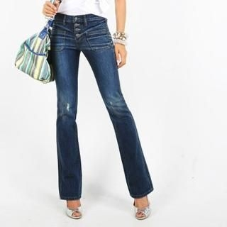 Picture of BBon-J Boot-cut Jeans 1023044723 (Womens Boot-Cut Pants, BBon-J Pants, South Korea Pants)