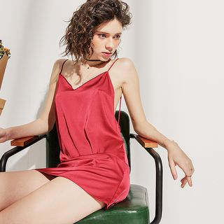 Image of Backless Strappy Sleepdress