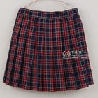 Plaid Pleated Skirt 1596