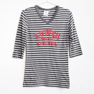 Buy SERUSH Striped Print Tee 1022854890