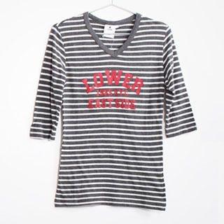 Buy SERUSH Striped Print Tee 1022854890