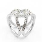 Rhinestone Scarf Ring от YesStyle.com INT