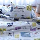 Set: Printed Pillow Case + Duvet Cover + Bed Sheet 1596