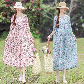 Cotton | Floral | Dress