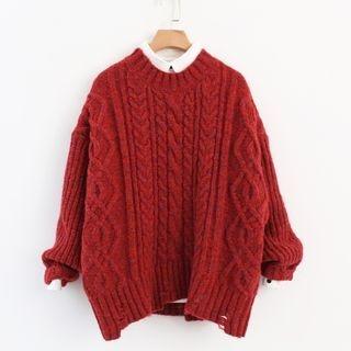 Rib Knit Sweater 1065512659