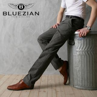 Picture of BLUEZIAN Dress Pants Gray - L 1022702019 (BLUEZIAN, Mens Pants, Korea)