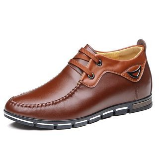 Faux Leather Boat Shoes 1061409272