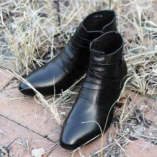 Picture of BoynMen Ankle Boots 1021790943 (Boots, BoynMen Shoes, Korea Shoes, Mens Shoes, Mens Boots)