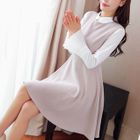 Bell-Sleeve Collared Dress 1596