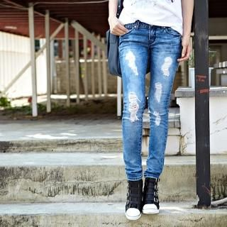 Buy Alice Room Washed Blue Jeans 1022942718