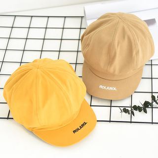 Image of Embroidered Newsboy Hat