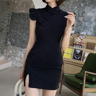 Traditional   Sleeveless   Chinese   Dress   Mini