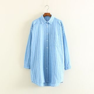 Striped Long Shirt 1053621491