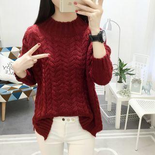 Rib Knit Sweater 1062570432