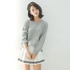 Plain Sweater 1596