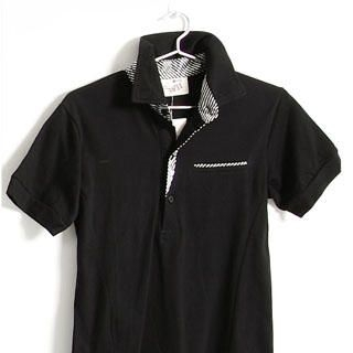 Picture of SERUSH Striped Details Polo Shirt 1022952898 (SERUSH, Mens Tees, Taiwan)