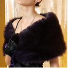 Faux Fur Stole White- One Size от YesStyle.com INT