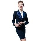 Paneled Blazer / Blouse / Skirt 1596