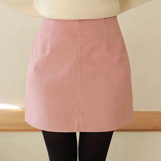 MyFiona Plain A-Line Miniskirt