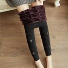 Fleece Lined Printed Leggings 1596