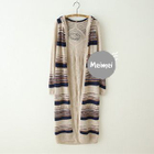 Hooded Long Cardigan 1596