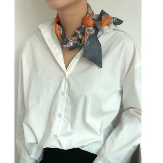 Floral | Scarf | Print | Silk