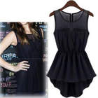 Chiffon Sleeveless Dress 1596