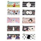 Jetoy - Faux-Leather Printed Pencil Case 1596