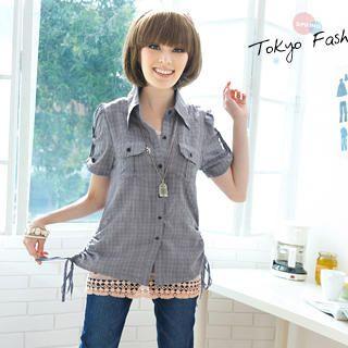 Buy Tokyo Fashion Crochet-Hem Slipdress 1022882931