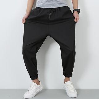 Cropped Harem Sweatpants