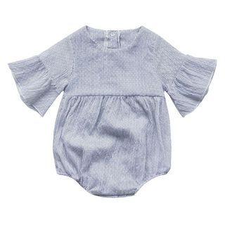 Baby Pinstriped Bodysuit