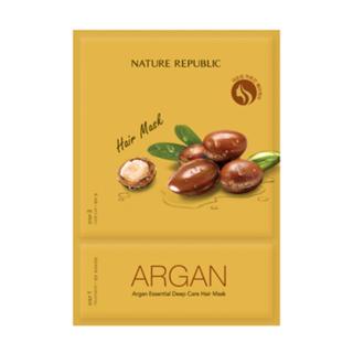 Nature Republic - Argan Essential Deep Care Hair Mask 1pc 15ml 1050316671