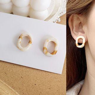 Acrylic | Earring | Hoop