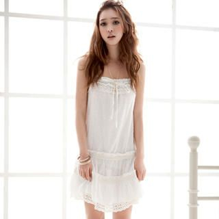 Buy Joanne Kitten Eyelet Lace-Trim Sundress 1022926130
