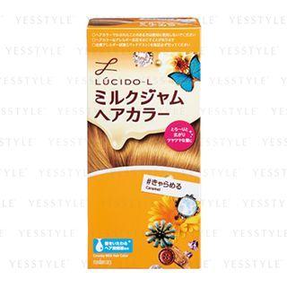 Mandom - Lucido-L Creamy Milk Hair Color (Caramel) 1 set 1058069413