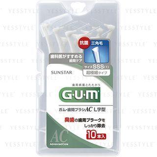 Sunstar - Gum Interdental Brush AC L Shape (SSS-1) 10 pcs 1061734948