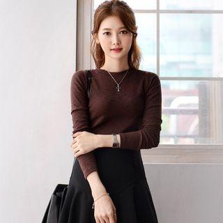 Long-Sleeve Slim-Fit T-Shirt 1061687203