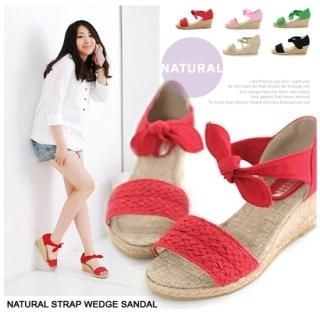 Buy Miz shoes Ankle Strap Wedge Sandals 1022657687