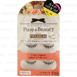 Image of ANNEX JAPAN - Pure Beauty Premium Selections Eyelashes (#PB-702) 2 pairs