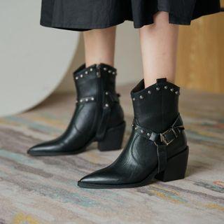 Studded   Short   Stud   Boot