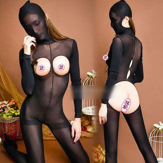 Cutout Lingerie Bodysuit